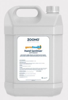 Zoono Hand Sanitiser Bulk 5L (GermFree24)